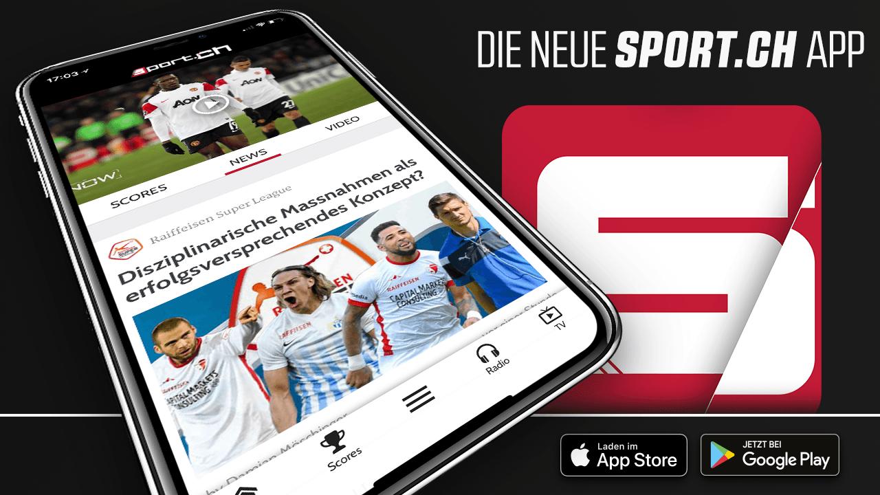 Die Neue Sport Ch App Fur Iphone Ipad Und Android
