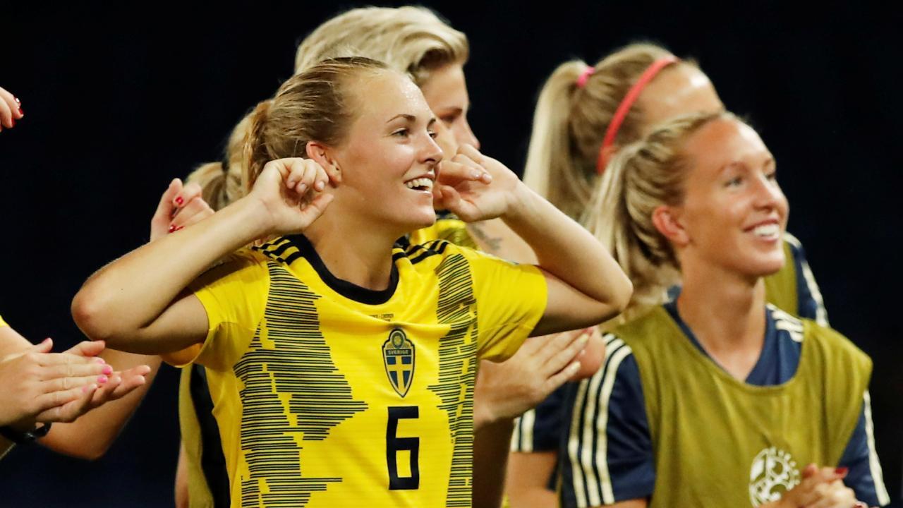 Schweden # Match 51 Start List Platz 3 FIFA Frauen Fussball WM 2019 England